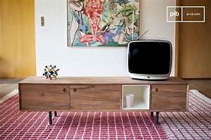 Meuble Tv Vintage : meuble tv vintage bascole design haut en contrastes pib ~ Teatrodelosmanantiales.com Idées de Décoration