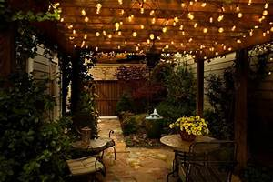 Outdoor led lighting for patios : Patio and hearth