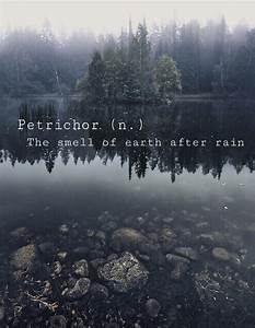 smell of rain quotes | Tumblr
