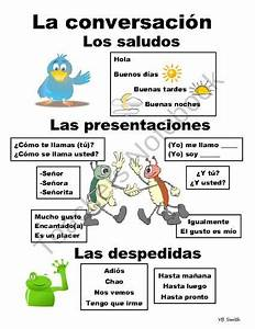 Noel En Espagnol : saluer et se pr senter espadoc pinterest espagnol langue et patios ~ Preciouscoupons.com Idées de Décoration