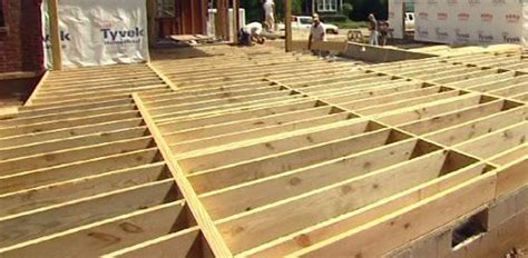 floor joist spans  home building projects todays