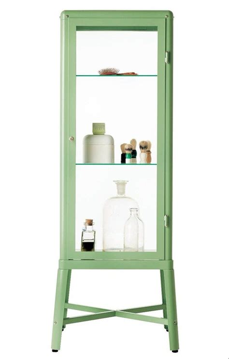 Glass Bathroom Cabinets by Fabrikor Ikea Glass Door Cabinet Light Green Master
