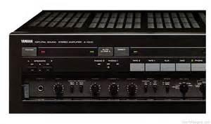 yamaha   manual stereo integrated amplifier