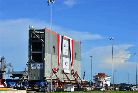First Gate for Panama Canal's New Locks Delivered   World ...