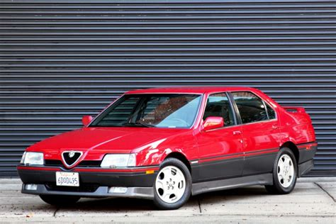 Alfa Romeo 164 by 1991 Alfa Romeo 164 Sport 5 Speed For Sale On Bat Auctions