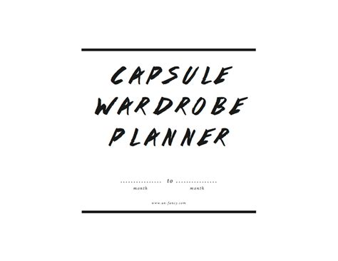 Capsule Wardrobe Planner by New Capsule Wardrobe Planner Updated For Summer
