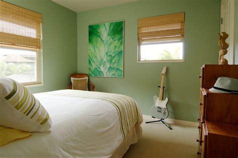 guest bedroom tropical bedroom los angeles by