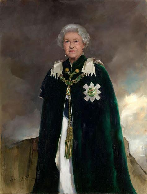 News Queen Elizabeth Queen Elizabeth Ii Is Regal In New Official Portrait Time
