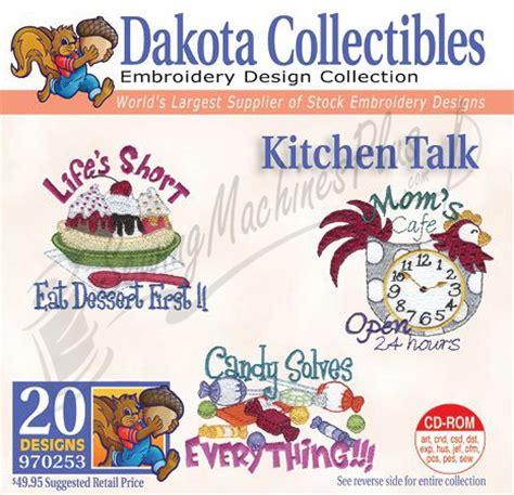 kitchen embroidery designs dakota collectibles kitchen talk embroidery designs 1596