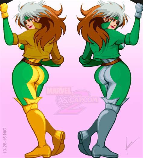 Marvel Vs Capcom 2 Rogue By Nio107 On Deviantart