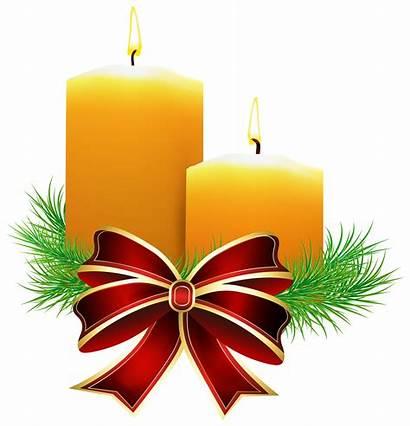 Candle Clip Christmas Candles Clipart Transparent Graphics