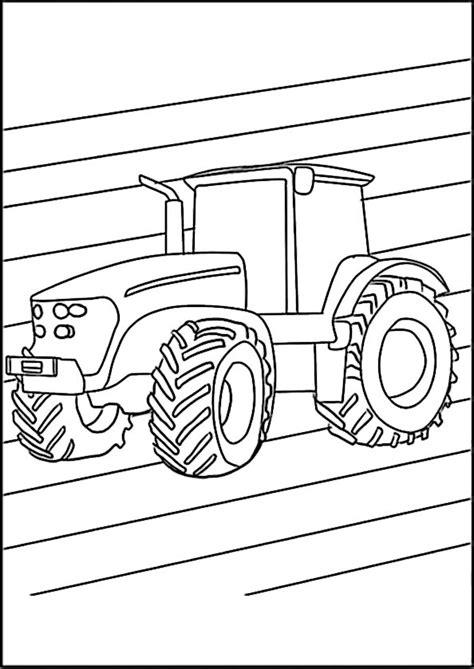 ausmalbilder traktor  ausmalbilder