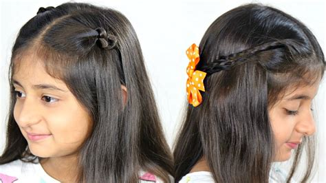 New Simple Hairstyles For by 2 Easy Simple Hairstyles 2 Mins Everyday