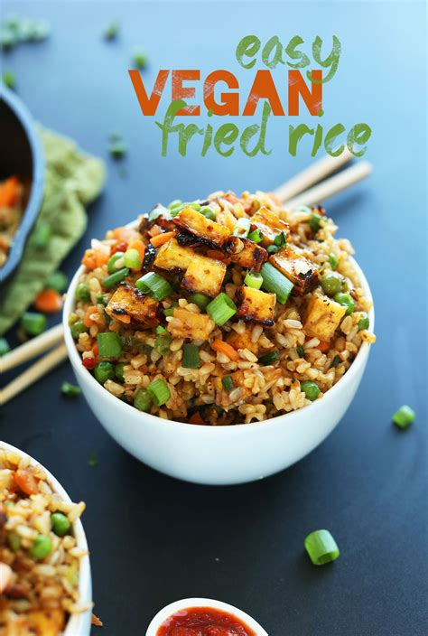 vegan recipes vegan fried rice minimalist baker recipes