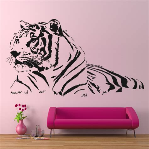 stickers chambre ado wallstickers folies tiger wall stickers