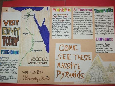 ancient egypt travel brochure project brochures travel