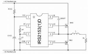 Half-bridge Mosfet Driver Ic Irs2153 1 D