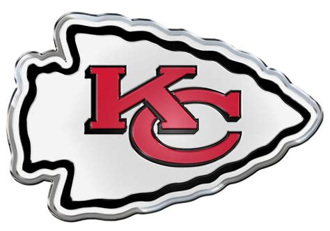 kansas city chiefs colors kansas city chiefs die cut color auto emblem autos