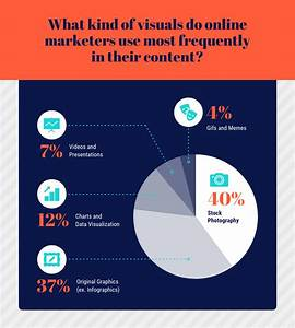 Visual Content Pie Chart Template Template