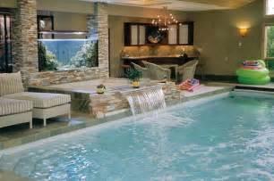 livingroom diningroom combo indoor pool and spa