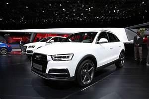 Audi Q3 Restylé : audi q3 restyl le discret du salon de gen ve photo 3 l 39 argus ~ Medecine-chirurgie-esthetiques.com Avis de Voitures