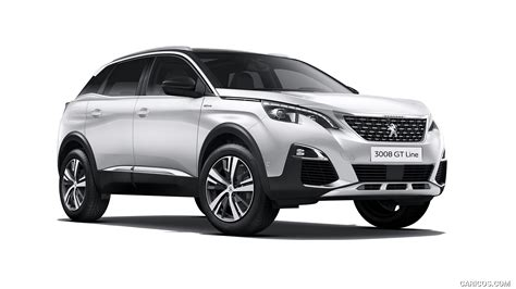 Peugeot 3008 Backgrounds by 2017 Peugeot 3008 Gt Line Front Three Quarter Hd