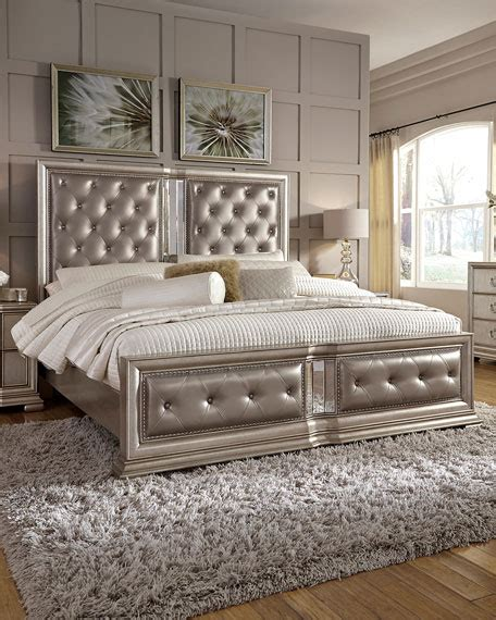 32734 california king size bed tufted california king bed