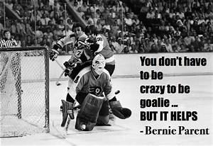 12 Motivational... Funny Hockey Goalie Quotes