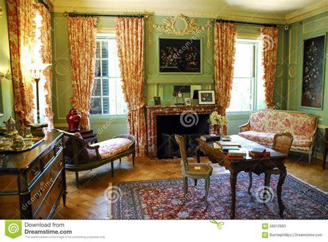 boudoir chaise lounge edith wharton boudoir the mount editorial stock photo