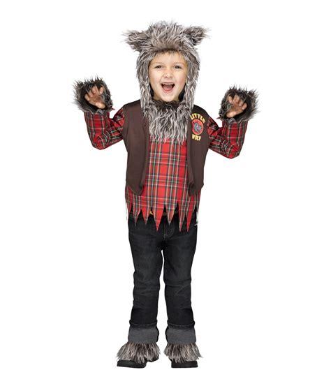 wolf costume boys werewolf wear costumes halloween boy little animal toddler