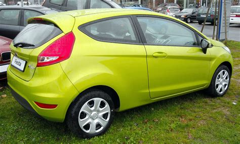 Image Gallery 2008 Ford Fiesta