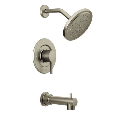bathtub faucet kit moen align 1 handle moentrol tub and shower faucet trim