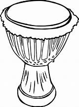 Drum Coloring Djembe Clipart African Pages Drawing Awesome Drums Africa Drawings Printable Line Cool Boys Elementary Circle Simple Wecoloringpage Getcolorings sketch template