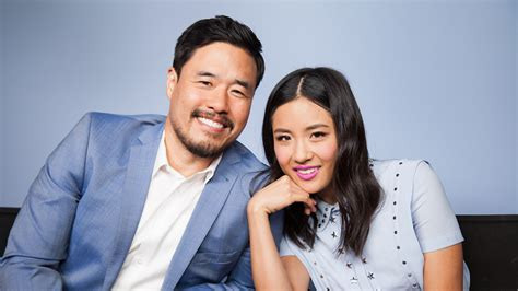 What Does Fresh Off The Boat Mean randall park and constance wu on fresh off the boat s