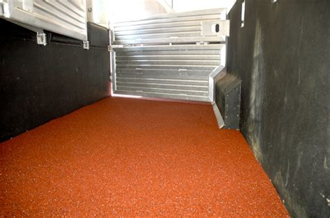 polylast flooring in and livestock trailer purchasing 101 part 4