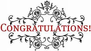 Congratulations clip art - Clipartix