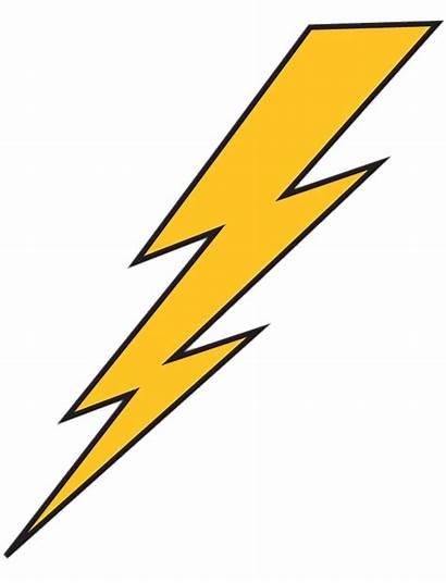 Lightning Bolt Yellow Transparent Clipart Flash Bowie