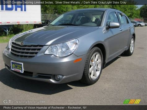 2007 Chrysler Sebring Limited by Silver Steel Metallic 2007 Chrysler Sebring Limited