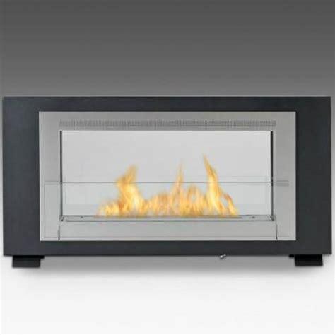 eco feu santa cruz  sided ventless ethanol fireplace ws