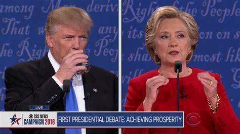 full video trump clinton  presidential debate youtube