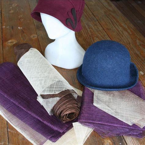 hat making millinery artisancamp
