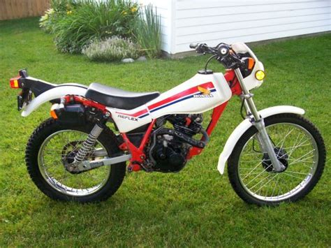 Honda Tlr200 Trials Bike Only Manufactured For A Couple Of