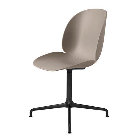 chaise de bureau beige chaise de bureau beetle unupholstered casted swivel base