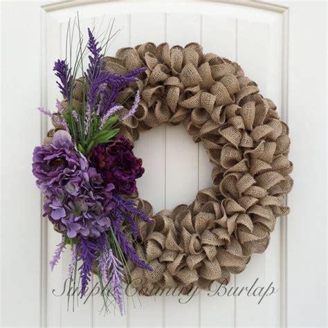 burlap wreaths ideas  pinterest burlap wreath