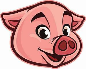 Pig Face Clipart | Free download best Pig Face Clipart on ...