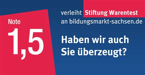 Stiftung Warentest by Testsieger Bildungsmarkt Sachsen De Bildungsmarkt Sachsen De