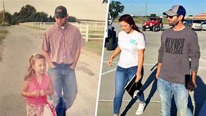 Dad walks daughter to first day of kindergarten ... and ...
