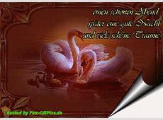 Guten Abend Grüsse GB animiert Facebook BilderGB Bilder