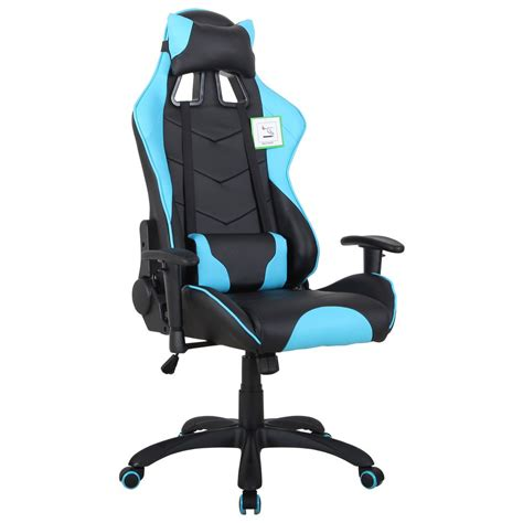 Staples Gaming Chair by Lemans Gaming Chair Blue Staples 174
