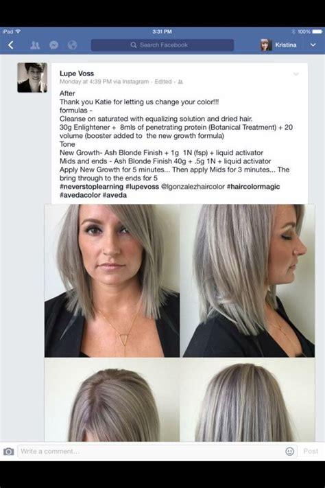 silver hair color formula silver grey aveda formula aveda aveda hair color hair